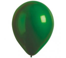 Metalizuotas balionas, žalias (30 cm)