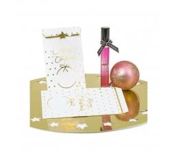 """Mini dovanų maišeliai """"Auksinės žvaigždutės"""" (10 vnt.)"""