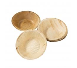 Mini dubenėliai iš palmių lapų (6 vnt.)