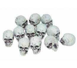 Mini kaukolės (12 vnt./4 cm)