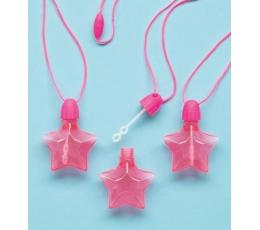 """Muilo burbulai """"Rožinės žvaigždės"""" (4 vnt./14.7 ml.)"""