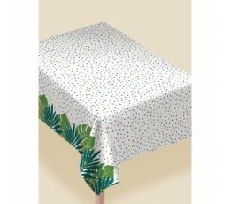 """Neperšlapama staltiesė """"Tropikų lapai"""" (132x228 cm)"""