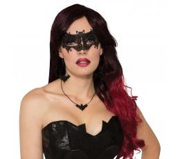 Nėriniuota šikšnosparnio kaukė