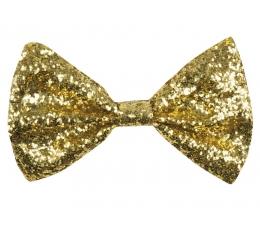 Peteliškė / blizgi auksinė (1 vnt./12 cm. x 6 cm.)