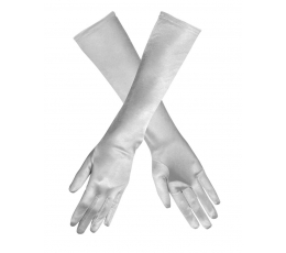 Pirštinės / sidabrinės (1 pora / 38 cm.)