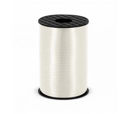 Plastikinė juostelė, balta (5mm/225m)