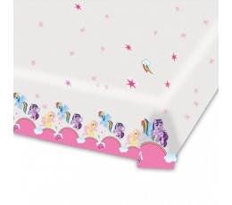 """Plastikinė staltiesė """"Poniai"""" (1.80 m. x 1.20 m.)"""
