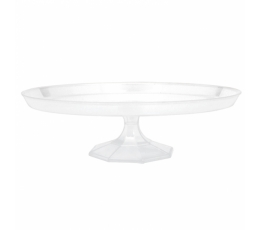 Plastikinė tortinė, skaidri (29,2cm)