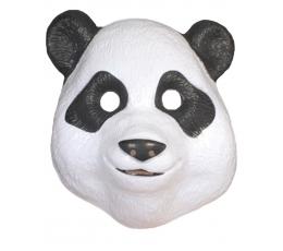 """Plastikinė veido kaukė """"Panda"""""""
