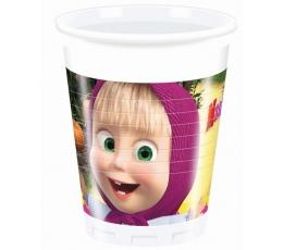 """Plastikiniai puodeliai """"Maša"""" (8 vnt./200 ml.)"""