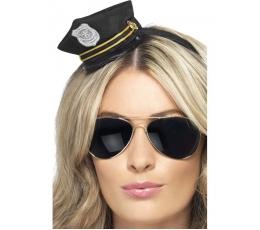 Policininkės lankelis-kepuraitė (1 vnt.)