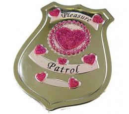 Policininkės ženkliukas