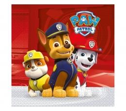 """Pop. servetėlės """"Šunyčiai patruliai"""" (20 vnt./33 x 33 cm.)"""