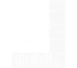 Popierinė staltiesė / balta (1.37 m. x 2.74 m.)
