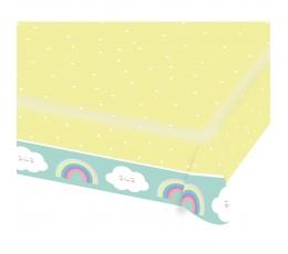 """Popierinė staltiesė """"Debesėliai"""" (1.15 m. x 1.75 m.)"""