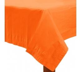 Popierinė staltiesė / oranžinė (1.37 m. x 2.74 m.)