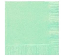 Popierinės servetėlės / mėtinės (20 vnt./33x33 cm.)