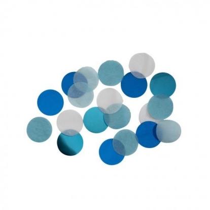 Popieriniai konfeti, melsvi (15 g)