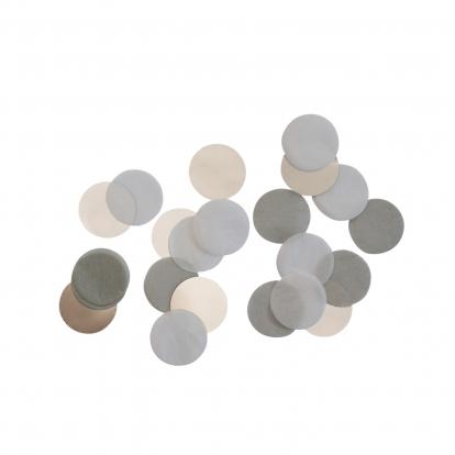 Popieriniai konfeti, pilki (15 g)