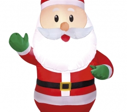 """Pripučiama šviečianti dekoracija """"Kalėdų Senelis"""" (65x55x120 cm/3 LED) 0"""