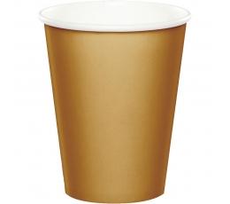 Puodeliai, auksiniai (24 vnt./266 ml)