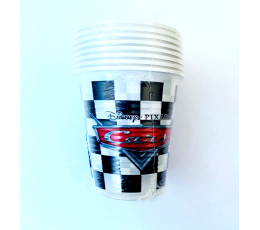 "Puodeliai ""Cars Racers"" (8 vnt./200 ml)"