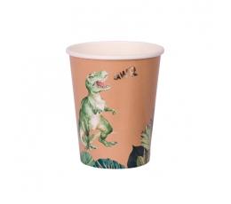 """Puodeliai """"Dinozaurai džiunglėse"""" (8 vnt./250 ml)"""