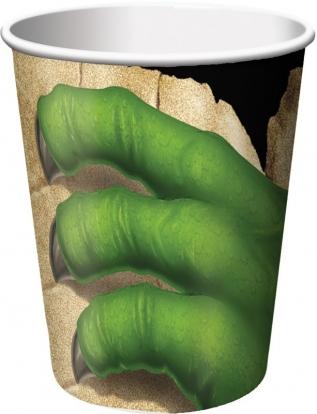 """Puodeliai """"Dinozauras Dinas"""" (8 vnt./266 ml)"""