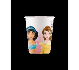 """Puodeliai """"Disney princesės"""", kompostuojami (8 vnt./200 ml)"""