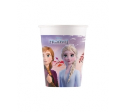 "Puodeliai ""Frozen"", kompostuojami  (8 vnt./200 ml)"