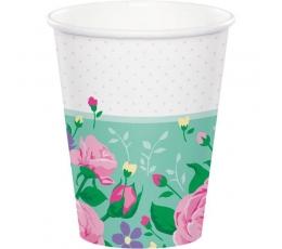 """Puodeliai """"Gėlių fėja"""" (8 vnt./266 ml)"""