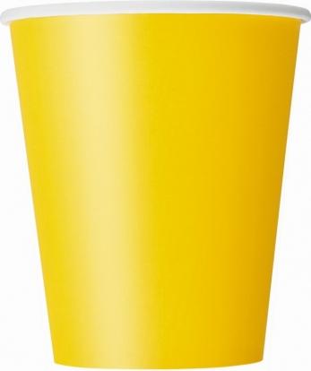 Puodeliai, geltoni (8 vnt./266 ml)