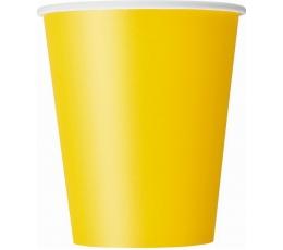 Puodeliai, geltoni (8 vnt./270 ml)