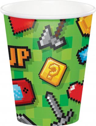 """Puodeliai """"Kompiuteriniai žaidimai"""" (8 vnt./266 ml)"""