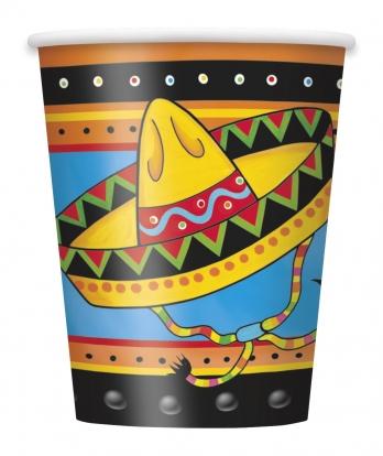 """Puodeliai """"Meksika"""" (8 vnt./270 ml)"""