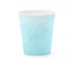 Puodeliai, melsvi (6 vnt./180 ml)