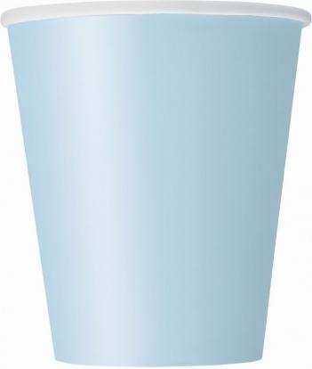 Puodeliai, melsvi (8 vnt./266 ml)