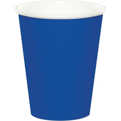 Puodeliai, mėlyni (8 vnt./266 ml)