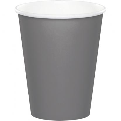 Puodeliai, pilki matiniai (24 vnt./266 ml)