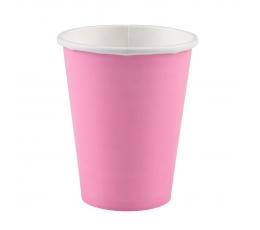 Puodeliai,  rožiniai (20 vnt./266 ml)