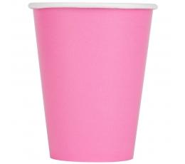 Puodeliai, rožiniai (24 vnt./266 ml)