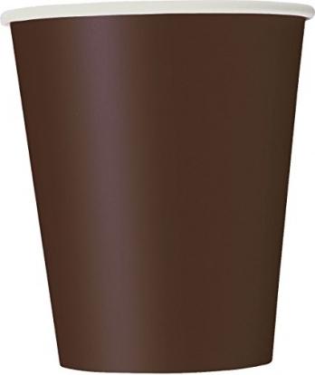 Puodeliai, rudi (14 vnt./266 ml)