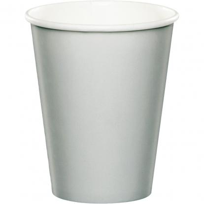 Puodeliai, sidabriniai (24 vnt./266 ml)