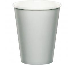 Puodeliai, sidabriniai (8 vnt./266 ml)