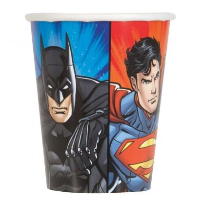 """Puodeliai """"Superherojai"""" (8 vnt./270 ml)"""
