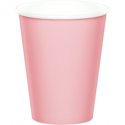 Puodeliai, švelniai rožiniai (24 vnt./266 ml)