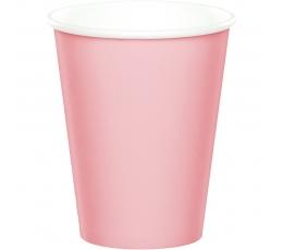 Puodeliai, švelniai rožiniai (8 vnt./266 ml)