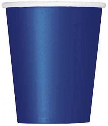 Puodeliai, tamsiai mėlyni (14 vnt./270 ml)
