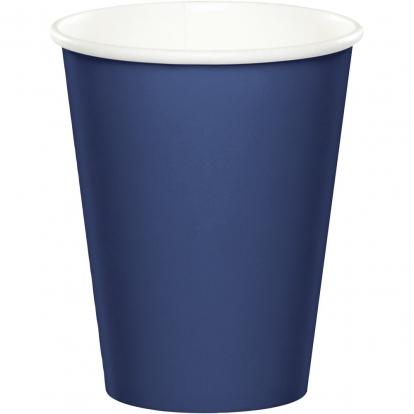 Puodeliai, tamsiai mėlyni (24 vnt./266 ml)