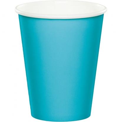 Puodeliai, vandenyno spalvos (8 vnt./266 ml)